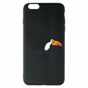 Etui na iPhone 6 Plus/6S Plus Tukan ilustracja w locie