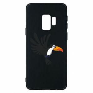 Etui na Samsung S9 Tukan ilustracja w locie