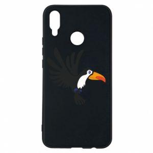 Etui na Huawei P Smart Plus Tukan ilustracja w locie