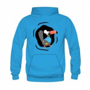 Kid's hoodie Toucan