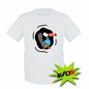 Dziecięcy T-shirt Tukan - PrintSalon