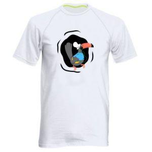 Męska koszulka sportowa Tukan - PrintSalon