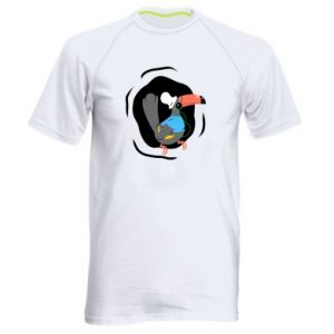 Men's sports t-shirt Toucan