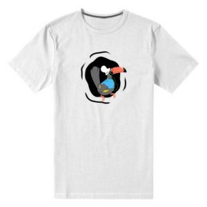 Męska premium koszulka Tukan - PrintSalon
