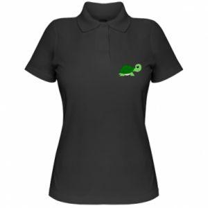 Damska koszulka polo Baby turtle