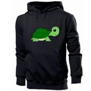 Bluza z kapturem męska Baby turtle