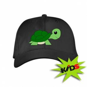 Dziecięca czapeczka z daszkiem Baby turtle