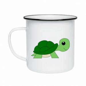 Kubek emaliowany Baby turtle