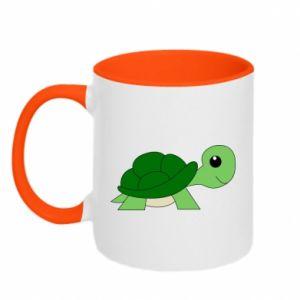 Kubek dwukolorowy Baby turtle