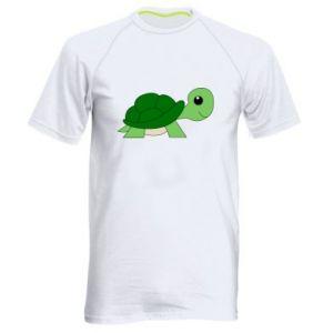 Męska koszulka sportowa Baby turtle