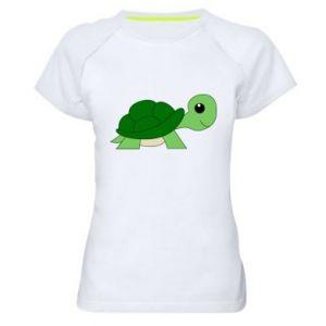 Koszulka sportowa damska Baby turtle