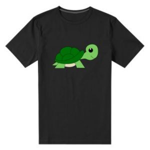 Męska premium koszulka Baby turtle