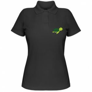 Damska koszulka polo Sleeping turtle