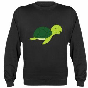 Sweatshirt Sleeping turtle - PrintSalon