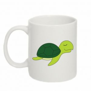 Mug 330ml Sleeping turtle - PrintSalon
