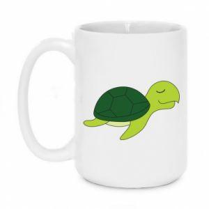 Mug 450ml Sleeping turtle - PrintSalon
