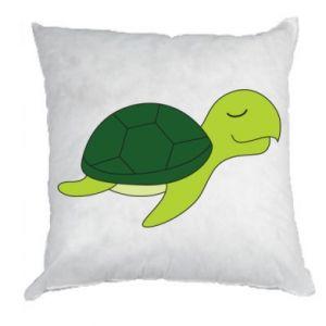 Pillow Sleeping turtle - PrintSalon