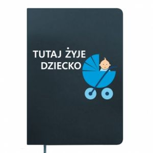 Notepad Tutaj żyje dziecko