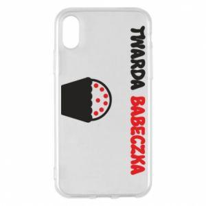 Phone case for iPhone X/Xs Girl... - PrintSalon
