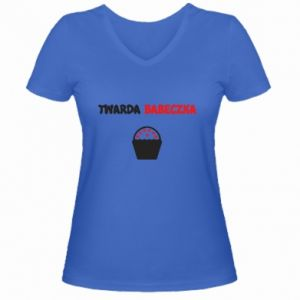 Women's V-neck t-shirt Girl... - PrintSalon