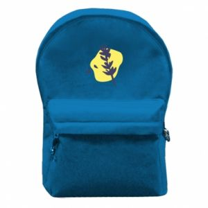 Backpack with front pocket Twig