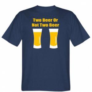 Koszulka Two beers or not two beers - PrintSalon