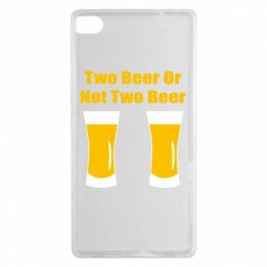 Huawei P8 Case Two beers or not two beers
