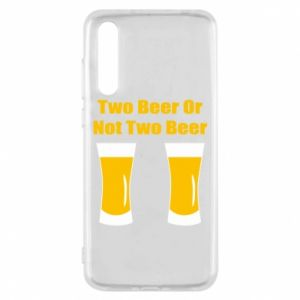 Huawei P20 Pro Case Two beers or not two beers