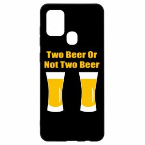 Samsung A21s Case Two beers or not two beers