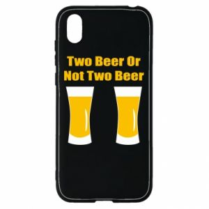 Huawei Y5 2019 Case Two beers or not two beers