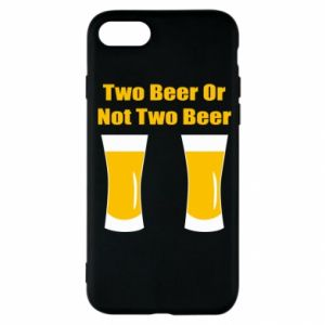 iPhone SE 2020 Case Two beers or not two beers