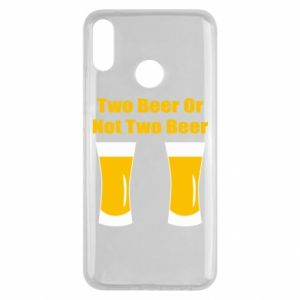 Huawei Y9 2019 Case Two beers or not two beers