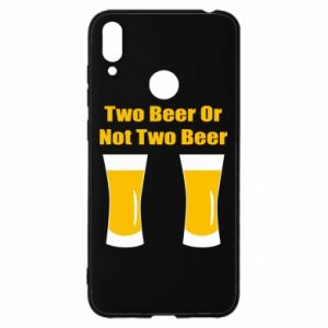 Huawei Y7 2019 Case Two beers or not two beers