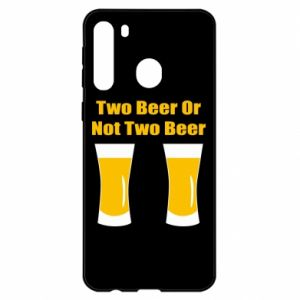 Samsung A21 Case Two beers or not two beers
