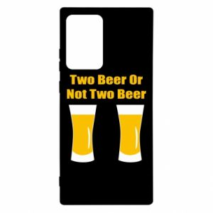Samsung Note 20 Ultra Case Two beers or not two beers