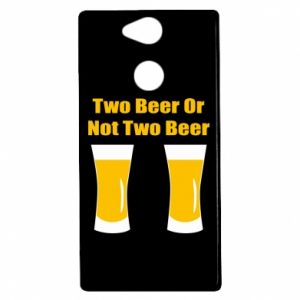 Sony Xperia XA2 Case Two beers or not two beers