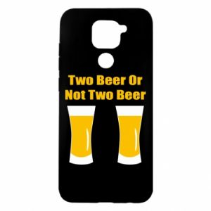 Xiaomi Redmi Note 9 / Redmi 10X case % print% Two beers or not two beers
