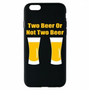 Etui na iPhone 6/6S Two beers or not two beers - PrintSalon