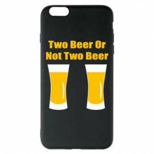 Etui na iPhone 6 Plus/6S Plus Two beers or not two beers - PrintSalon