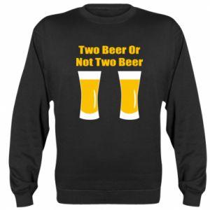 Bluza (raglan) Two beers or not two beers - PrintSalon