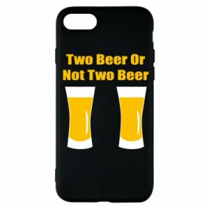 Etui na iPhone 7 Two beers or not two beers - PrintSalon