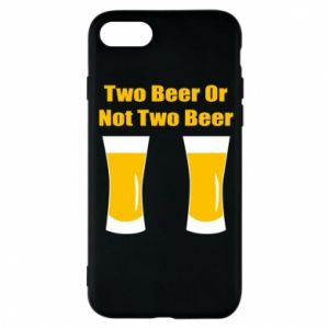 Etui na iPhone 8 Two beers or not two beers - PrintSalon