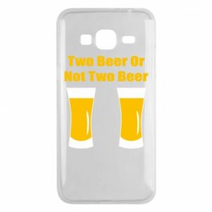 Samsung J3 2016 Case Two beers or not two beers