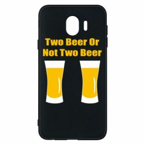 Samsung J4 Case Two beers or not two beers