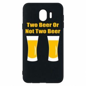 Etui na Samsung J4 Two beers or not two beers