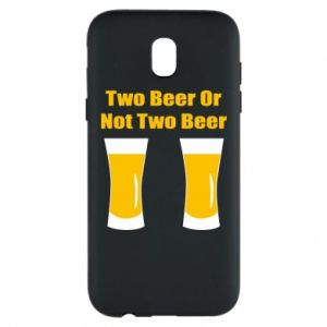 Etui na Samsung J5 2017 Two beers or not two beers - PrintSalon