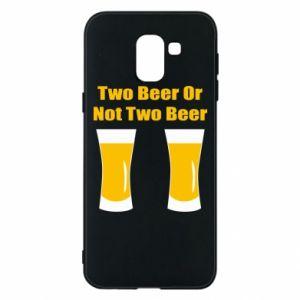 Etui na Samsung J6 Two beers or not two beers