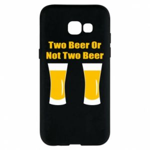 Etui na Samsung A5 2017 Two beers or not two beers - PrintSalon