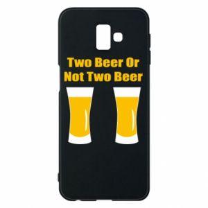 Etui na Samsung J6 Plus 2018 Two beers or not two beers - PrintSalon