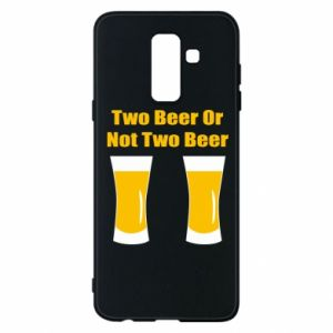 Etui na Samsung A6+ 2018 Two beers or not two beers - PrintSalon